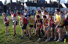 East Surrey League Relay - Wimbledon Common Feb 07 - James Dunning 4th left